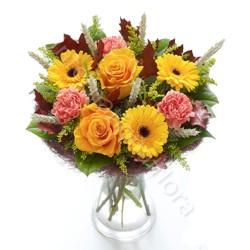 Bouquet Autunnale dai toni caldi