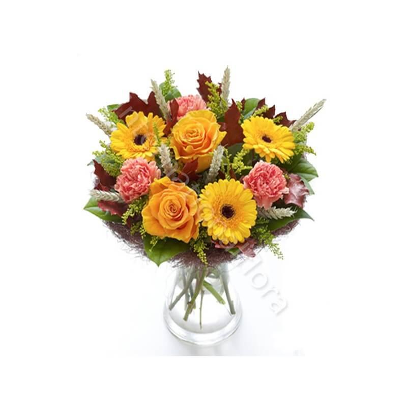 Bouquet Autunnale dai toni caldi internationalflora.com