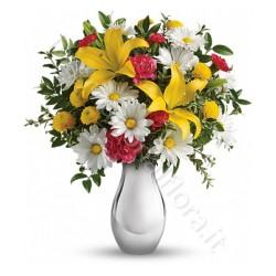 Bouquet di Gigli gialli