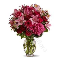 Bouquet di Gigli e Rose