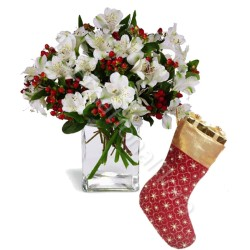 Bouquet di Alstroemerie con Calza Epifania