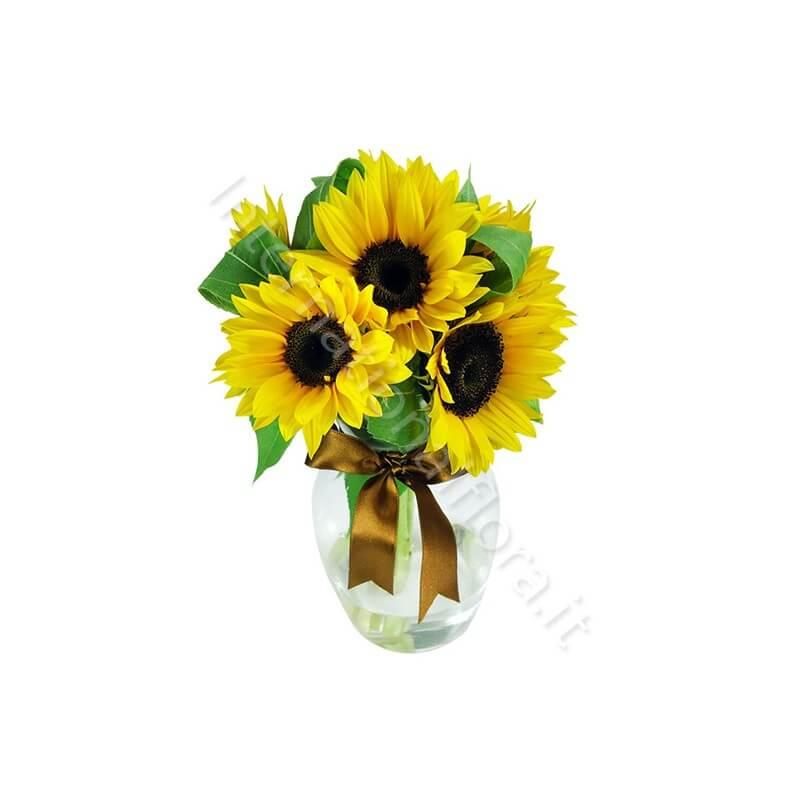 Bouquet di Tre Girasoli internationalflora.com