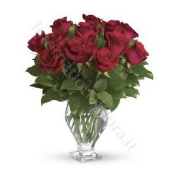 Bouquet di 12 Rose Rosse