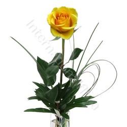 Rose gialle numero preciso