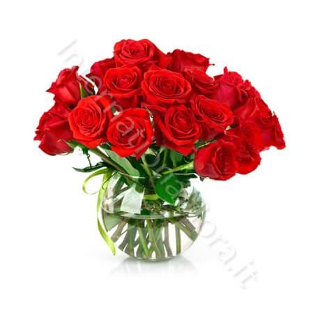 Bouquet di 18 Rose Rosse