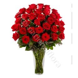 Bouquet di 36 Rose Rosse