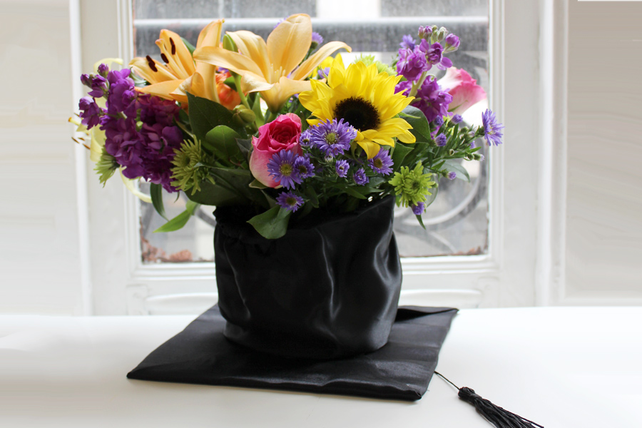 Flowers to give for a degree