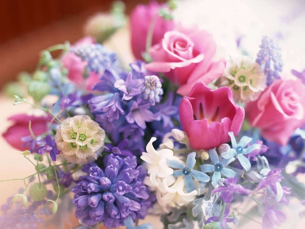 Flowers to give for a birth