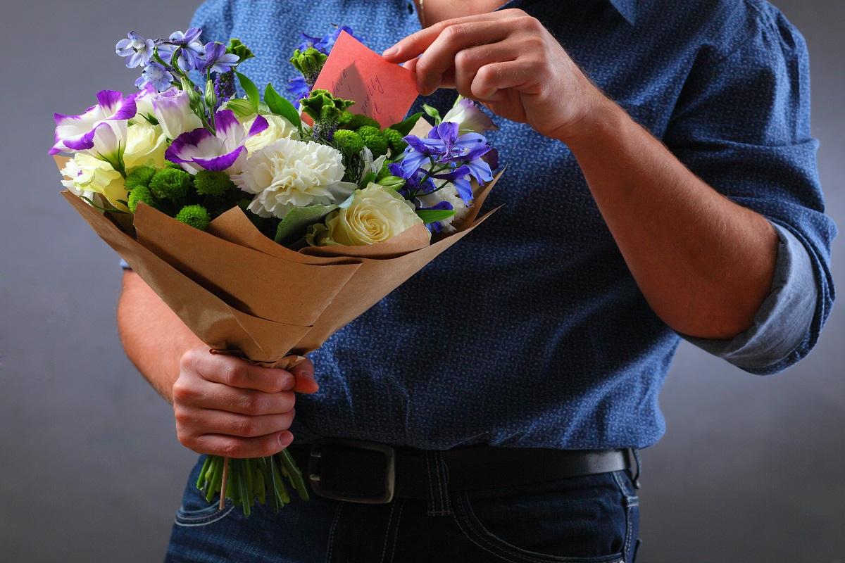 Quali sono i fiori da regalare ad un uomo?