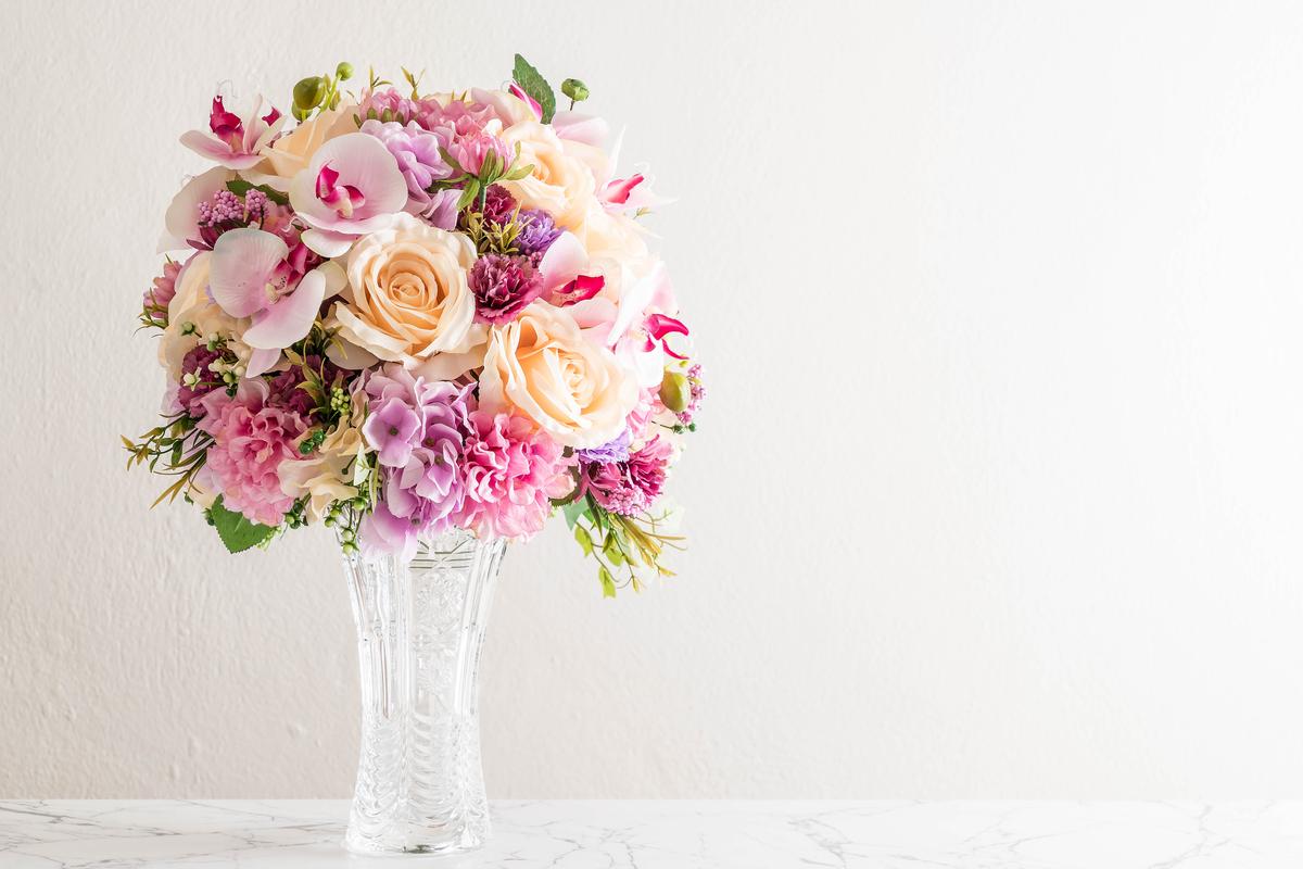 Hai ricevuto un bouquet? Ecco come mantenere i fiori recisi più a lungo